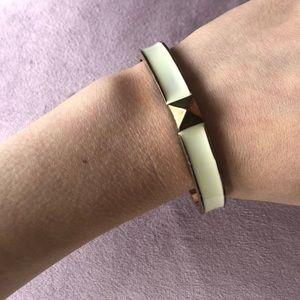 Anthropologie stud enamel bracelet